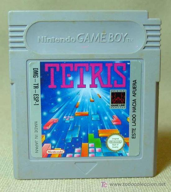 JUEGO CONSOLA, ORIGINAL NINTENDO, GAME BOY, TETRIS, JAPON (Juguetes - Videojuegos y Consolas - Nintendo - GameBoy)