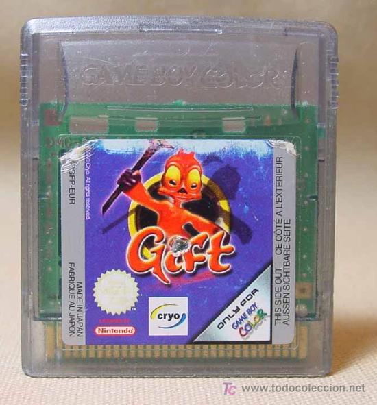 JUEGO CONSOLA, ORIGINAL NINTENDO, GAME BOY, GIFT, JAPON (Juguetes - Videojuegos y Consolas - Nintendo - GameBoy)
