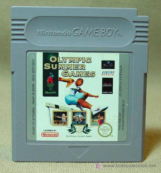 JUEGO CONSOLA, ORIGINAL NINTENDO, GAME BOY, OLYMPIC SUMMER GAMES, JAPON (Juguetes - Videojuegos y Consolas - Nintendo - GameBoy)