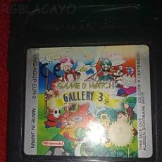 Videojuegos y Consolas: GAMEBOY GAME AND WATCH GALERY3. Lote 19717511