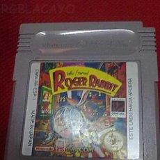 Videojuegos y Consolas: GAMEBOY ROGER RABBIT. Lote 20017487