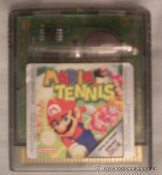 MARIO TENNIS - GAME BOY COLOR NINTENDO (Juguetes - Videojuegos y Consolas - Nintendo - GameBoy)