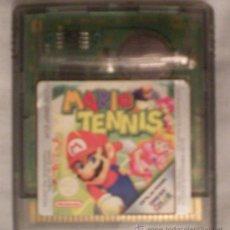 Videojuegos y Consolas: MARIO TENNIS - GAME BOY COLOR NINTENDO. Lote 21046852