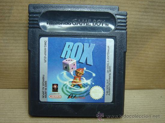 VIDEO JUEGO NINTENDO GAME BOY - ROX - (Juguetes - Videojuegos y Consolas - Nintendo - GameBoy)