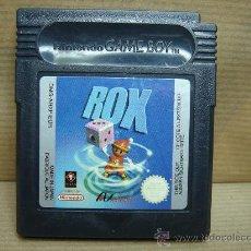 Videojuegos y Consolas: VIDEO JUEGO NINTENDO GAME BOY - ROX -. Lote 25369460