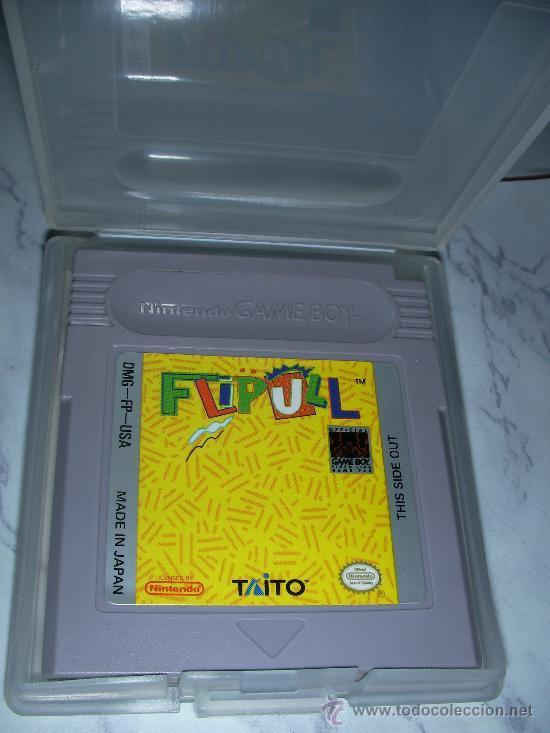 JUEGO NINTENDO GAMEBOY FLIPULL (Juguetes - Videojuegos y Consolas - Nintendo - GameBoy)