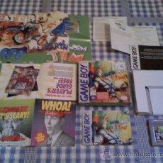 Videojuegos y Consolas: EARTHWORM JIM PARA LA NINTENDO GAMEBOY GAMEBOY JUEGO VIDEOJUEGO SALCEDUS_JVR SALCEDUS CON CAJA. Lote 26532518