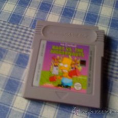 Videojuegos y Consolas: LOS SIMPSON´S BART VS. THE JUGGERNAUTS NINTENDO SIMPSONS GAMEBOY - GAMEBOY. Lote 29618191