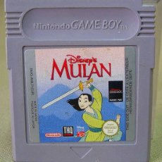 Videojuegos y Consolas: JUEGO, GAME BOY, GAMEBOY, MULAN, DISNEY, NINTENDO. Lote 27782741