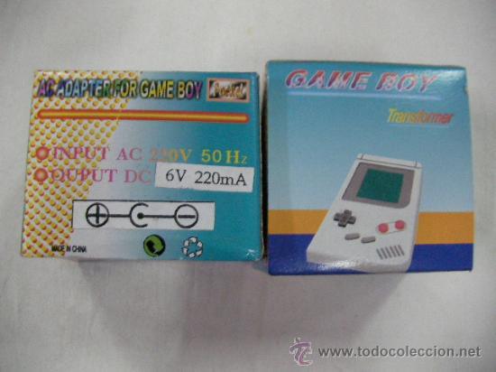TRANSFORMADOR PARA GAMEBOY 6 V (Juguetes - Videojuegos y Consolas - Nintendo - GameBoy)