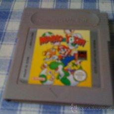 Videojuegos y Consolas: MARIO & YOSHI PARA NINTENDO GAMEBOY CLÁSICA GAME BOY VERSIÓN ESPAÑOLA BUEN ESTADO. Lote 29948980