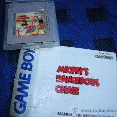 Videojuegos y Consolas: MICKEY'S DANGEROUS CHASE. Lote 30100936