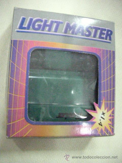 ANTIGUO LIGHT MASTER EN SU CAJA (Juguetes - Videojuegos y Consolas - Nintendo - GameBoy)