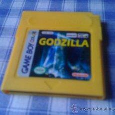 Videojuegos y Consolas: GODZILLA PARA NINTENDO GAMEBOY GAME BOY NGB GB SOLO CARTUCHO . Lote 32217626