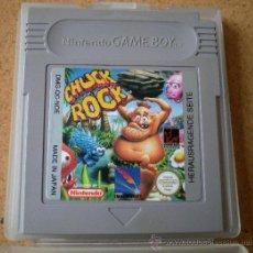 Videojuegos y Consolas: JUEGO GAME BOY CHUCK ROCK. Lote 32487291