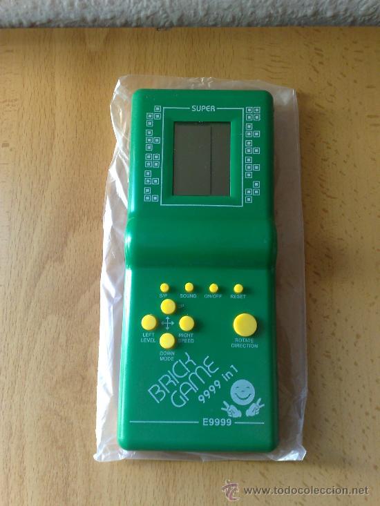 Clasica Consola Brick Game 9999 Tetris Nueva A Comprar Videojuegos