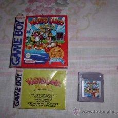 Videojuegos y Consolas: WARIO LAND GAME BOY (COMPLETO).. Lote 36371754