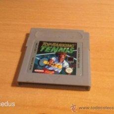 Videojuegos y Consolas: TOP RANKING TENNIS JUEGO PARA NINTENDO GAMEBOY GAME BOY CLÁSICA VERSIÓN ESPAÑOLA. Lote 37484090