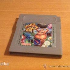 Videojuegos y Consolas: CHUCK ROCK JUEGO PARA NINTENDO GAMEBOY GAME BOY CLÁSICA SÓLO CARTUCHO. Lote 37484109