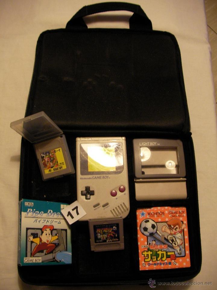 GRAN LOTE NINTENDO GAMEBOY CON MALETIN (Juguetes - Videojuegos y Consolas - Nintendo - GameBoy)