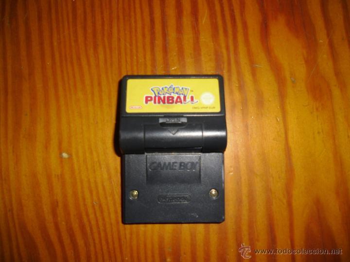 JUEGO NINTENDO GAME BOY POKEMON PINBALL (Juguetes - Videojuegos y Consolas - Nintendo - GameBoy)