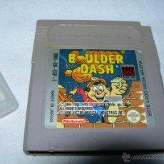 Videojuegos y Consolas: BOULDER DASH - GAME BOY. Lote 40661089