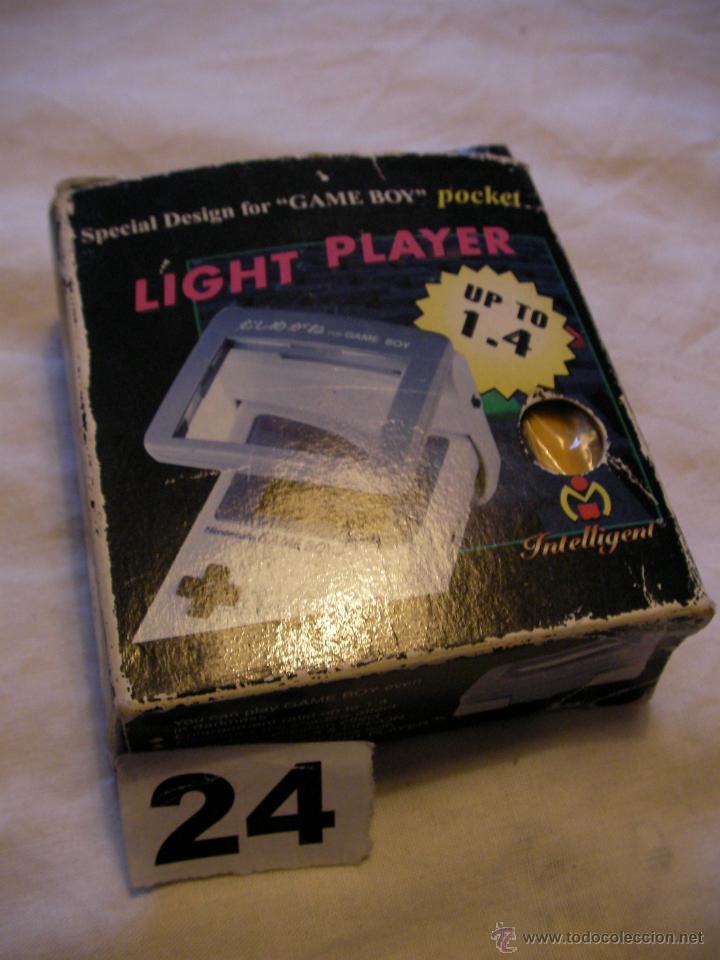 LAMPARA AUMENTO PARA GAMEBOY EN SU CAJA (Juguetes - Videojuegos y Consolas - Nintendo - GameBoy)