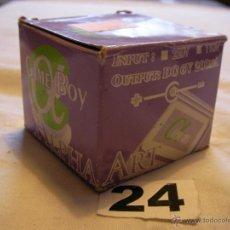 Videojuegos y Consolas: ADAPTADOR CORRIENTE GAMEBOY 6V NUEVO EN SU CAJA . Lote 40990691