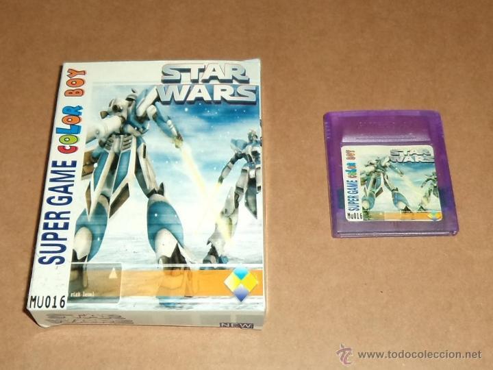 MU-016 SUPER GAME COLOR BOY COMPATIBLE NINTENDO GAMEBOY, EN SU CAJA. (Juguetes - Videojuegos y Consolas - Nintendo - GameBoy)