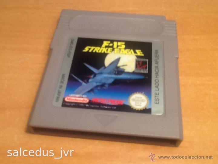 F-15 STRIKE EAGLE JUEGO PARA NINTENDO GAMEBOY GAME BOY VERSIÓN ESPAÑOLA CLÁSICA CLASSIC FAT (Juguetes - Videojuegos y Consolas - Nintendo - GameBoy)