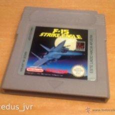 Videojuegos y Consolas: F-15 STRIKE EAGLE JUEGO PARA NINTENDO GAMEBOY GAME BOY VERSIÓN ESPAÑOLA CLÁSICA CLASSIC FAT. Lote 186460218