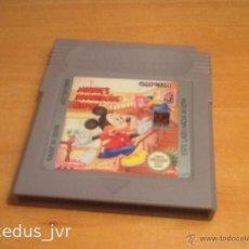 Videojuegos y Consolas: MICKEY DANGEROUS CHASE JUEGO PARA NINTENDO GAMEBOY GAME BOY VERSIÓN ESPAÑOLA CLÁSICA CLASSIC FAT. Lote 43891331