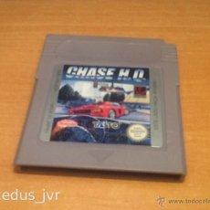 Videojuegos y Consolas: CHASE H.Q. JUEGO PARA NINTENDO GAMEBOY GAME BOY VERSIÓN ESPAÑOLA CLÁSICA CLASSIC FAT. Lote 43891489