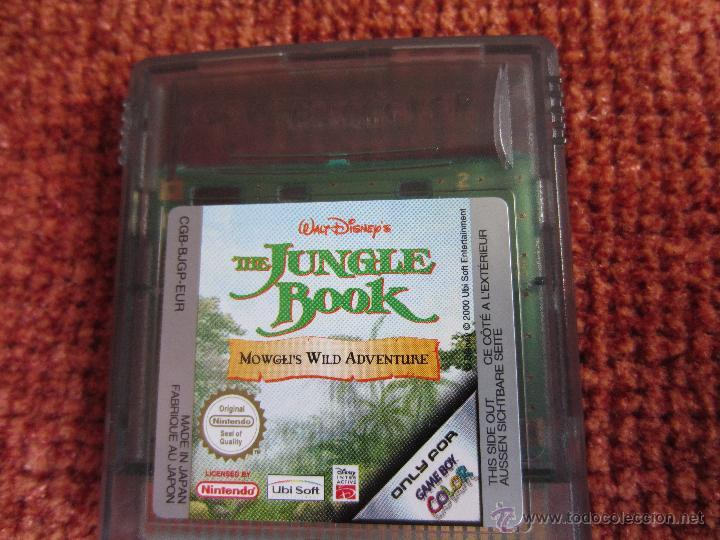 JUEGO THE JUNGLE BOOK PARA GAME BOY NINTENDO (Juguetes - Videojuegos y Consolas - Nintendo - GameBoy)