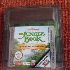 Videojuegos y Consolas: JUEGO THE JUNGLE BOOK PARA GAME BOY NINTENDO. Lote 43914653