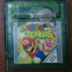 Videojuegos y Consolas: JUEGO GAMEBOY GAME BOY MARIO TENNIS. Lote 45906738