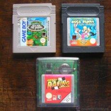 Videojuegos y Consolas: LOTE 3 JUEGOS GAME BOY (2) Y COLOR (1). VER FOTOS. Lote 46363827