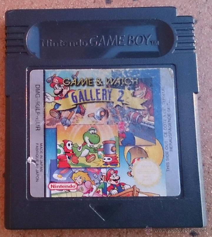 JUEGO GAME & WATCH GALLERY 2 GAME BOY GAMEBOY (Juguetes - Videojuegos y Consolas - Nintendo - GameBoy)