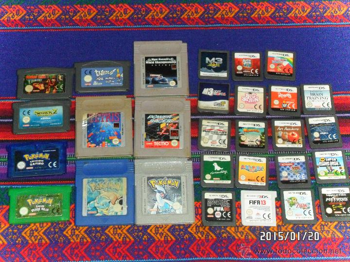 9 JUEGOS GAMEBOY POKÉMON PLATA 4 MULTI JUEGOS 6 GAMEBOY ADVANCED VERDE HOJA ZAFIRO 17 NINTENDO DS!!! (Juguetes - Videojuegos y Consolas - Nintendo - GameBoy)