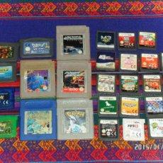 Videojuegos y Consolas: 9 JUEGOS GAMEBOY POKÉMON PLATA 4 MULTI JUEGOS 6 GAMEBOY ADVANCED VERDE HOJA ZAFIRO 17 NINTENDO DS!!!. Lote 47358528