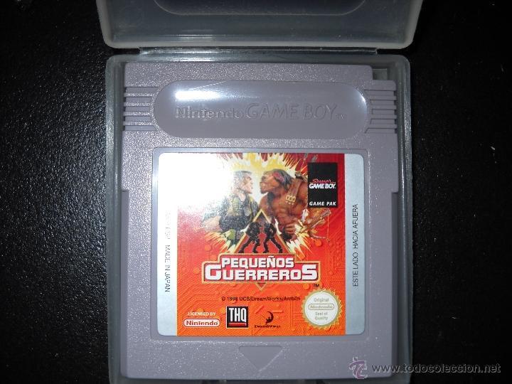 PEQUEÑOS GUERREROS GAME BOY. (Juguetes - Videojuegos y Consolas - Nintendo - GameBoy)