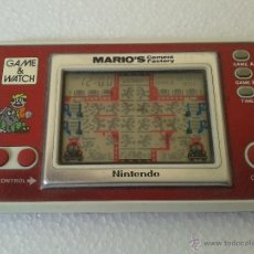 Videojuegos y Consolas: MARIO'S CEMENT FACTORY · NINTENDO · GAME & WATCH. Lote 49521434