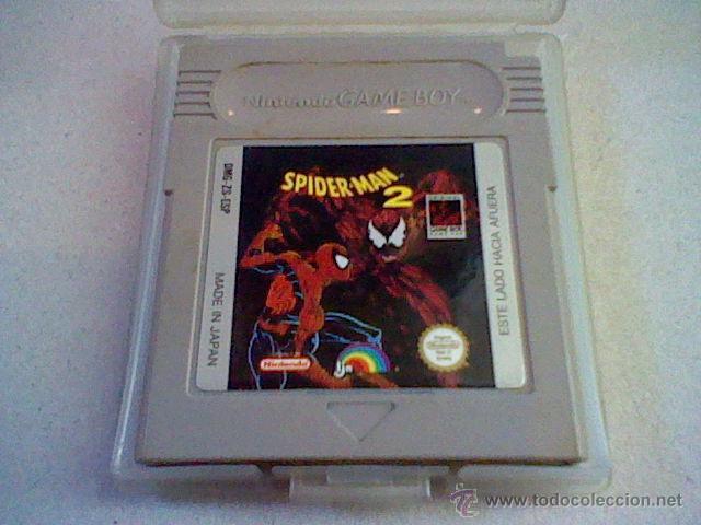JUEGO CARTUCHO CON PROTECTOR GB GAMEBOY SPIDERMAN 2 DMG-ZS-ESP (Juguetes - Videojuegos y Consolas - Nintendo - GameBoy)