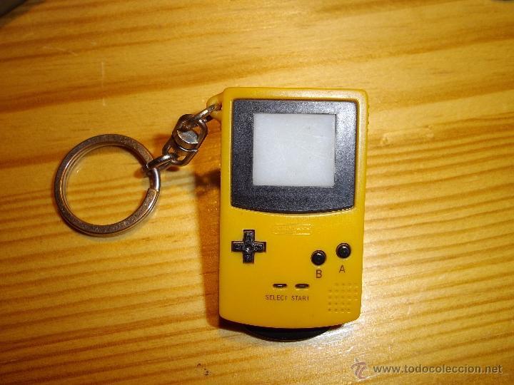 GENIAL LLAVERO VISOR IMAGEN DIAPOSITIVAS 2001 FORMA CONSOLA NINTENDO PERSONAJES POKEMON RARO (Juguetes - Videojuegos y Consolas - Nintendo - GameBoy)