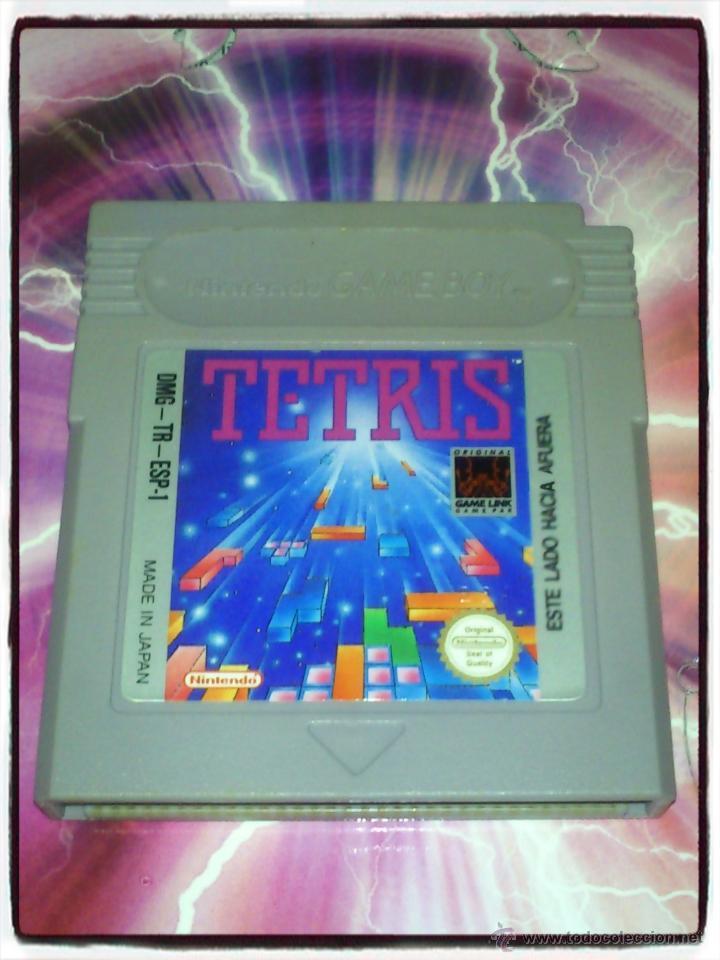 VIDEO JUEGO PARA GAMEBOY TETRIS, VERSION PAL ESPAÑA - NINTENDO - 1990 (Juguetes - Videojuegos y Consolas - Nintendo - GameBoy)