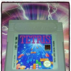 Videojuegos y Consolas: VIDEO JUEGO PARA GAMEBOY TETRIS, VERSION PAL ESPAÑA - NINTENDO - 1990. Lote 51121534