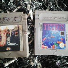 Videojuegos y Consolas: JUEGOS GAME BOY: TERMINATOR 2 Y TETRIS (SOLO CARTUCHOS SIN CAJAS). Lote 125824472
