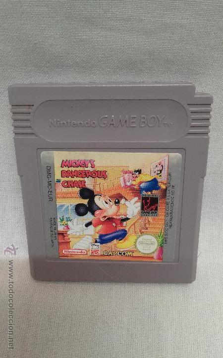 NINTENDO GAME BOY - JUEGO NINTENDO GAME BOY MICKEY'S DANGEROUS CHASE (Juguetes - Videojuegos y Consolas - Nintendo - GameBoy)