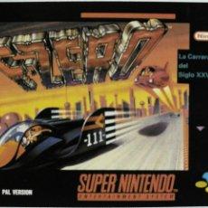 Videojuegos y Consolas: TARJETA, CROMO MATUTANO VIDEOJUEGO NINTENDO DE LOS 80 F-ZERO Nº32 GAMEBOY. Lote 53668662