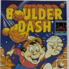 Videojuegos y Consolas: TARJETA, CROMO MATUTANO VIDEOJUEGO NINTENDO DE LOS 80 GAMEBOY BOULDER DASH (Nº 15). Lote 53668740